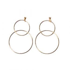 Boucles d'oreilles Johara doré