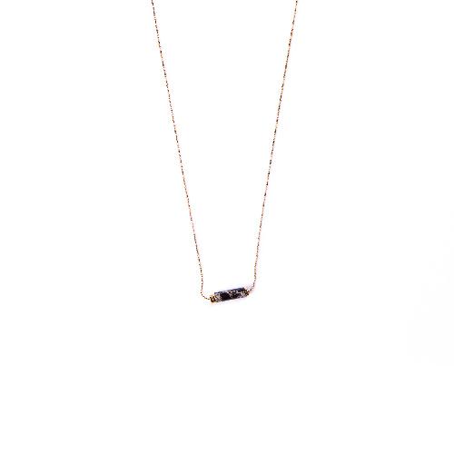 Collier orphée noir