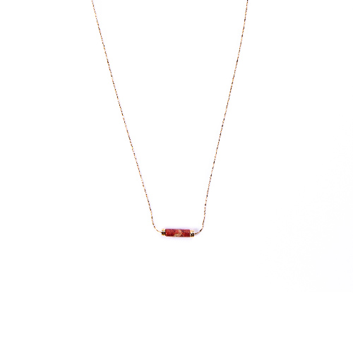 Collier orphée rouge