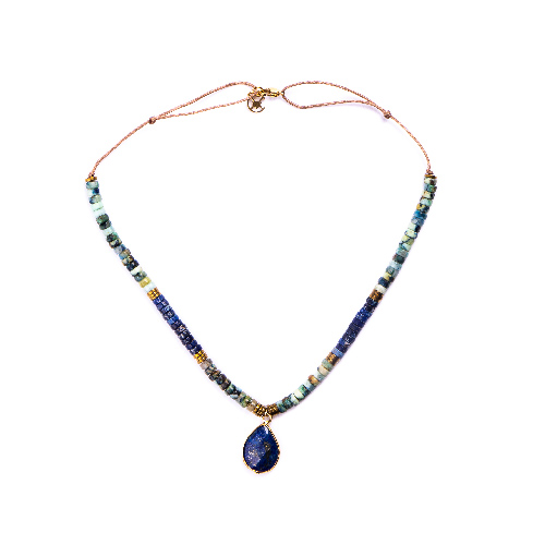 Collier heidi lapis lazuli