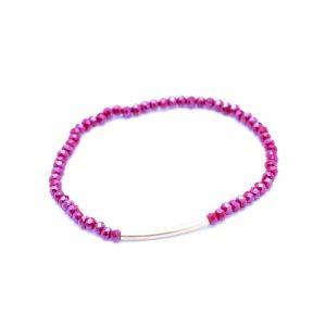 Bracelet arc rouge or