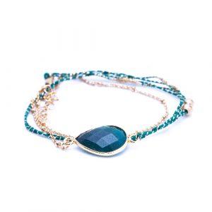 Bracelet multi tours tokyo labradorite