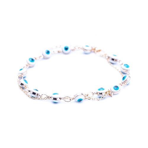 Bracelet suede blanc