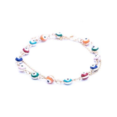 Bracelet suede multicolor