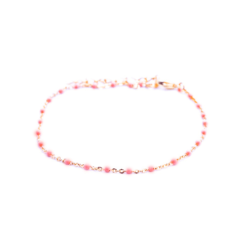 Bracelet olwen rouge or