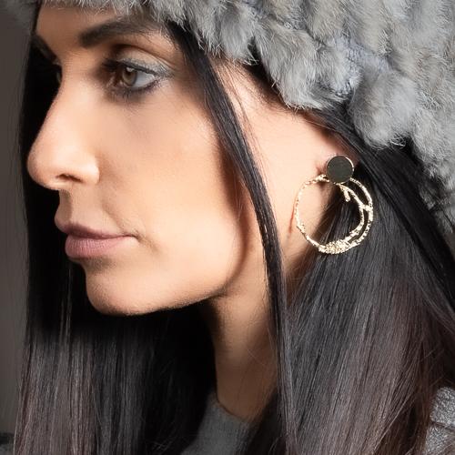 Boucles d'oreilles jesabel doré