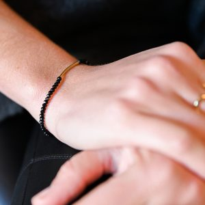 Bracelet arc noir