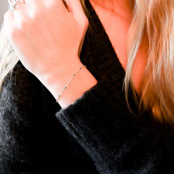 Bracelet olwen multicolore argent