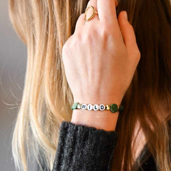 Bracelet wild aventurine