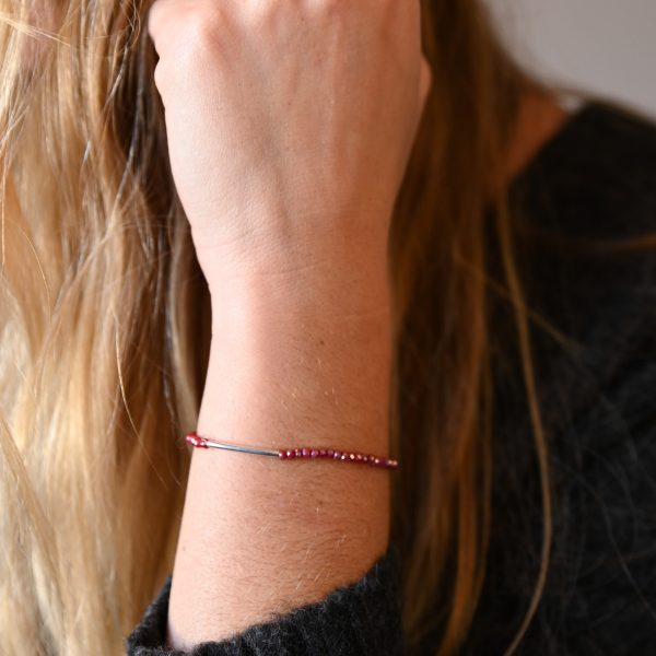 Bracelet arc rouge