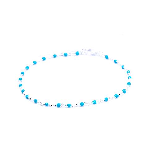 Bracelet olwen bleu canard