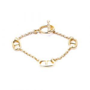 Bracelet maillon doré