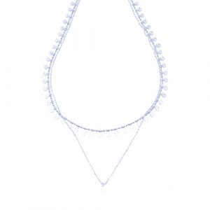 Collier gipsy argent