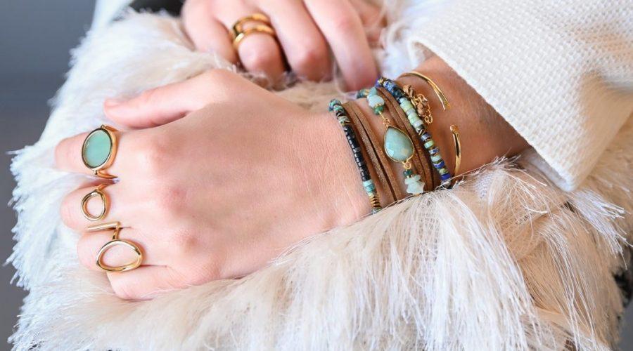 Compisition de bijoux Yael